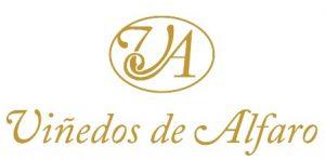 logotipo bodega viñedos de alfaro