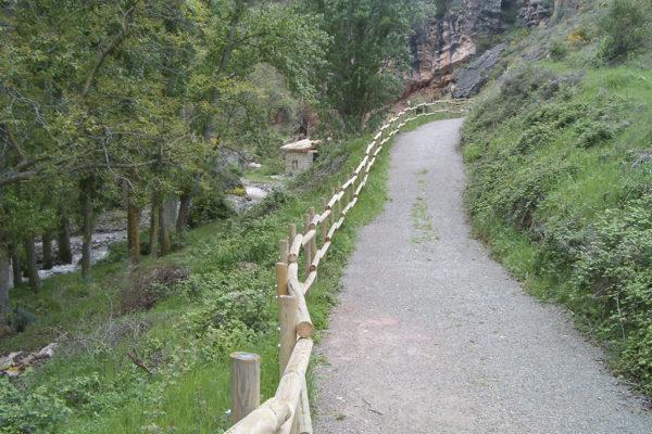 Ruta de las Ermitas en Lagunilla del Jubera